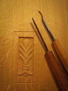 Et un petit épi sur chêne, pour tâter du contrefil et manier les petits outils