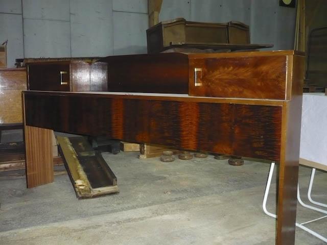 Cosy récupéré pour fabircation d'un meuble