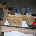 Fabrication d'un cheval à roulettes en up-cycling - en cours