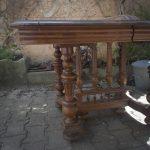 Table Henri II pour fabrication d'un bureau