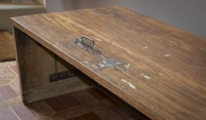 Table basse à partir d'une porte