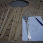 Table de jardin en robinier réparation par flipots