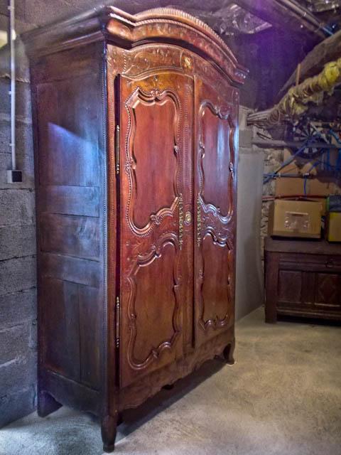 armoire malouine restaurée