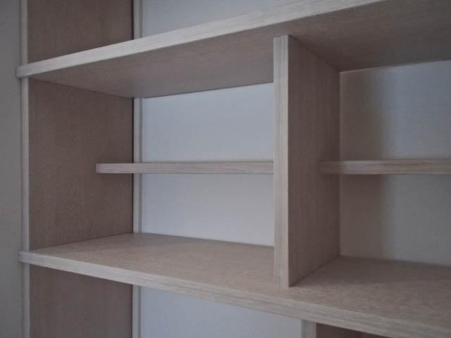 Bibliothèque CP chêne huile blanche