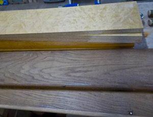 Etagère réversible - bois récupérés sur l'établi