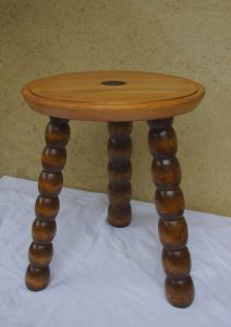 Table tabouret upcycling