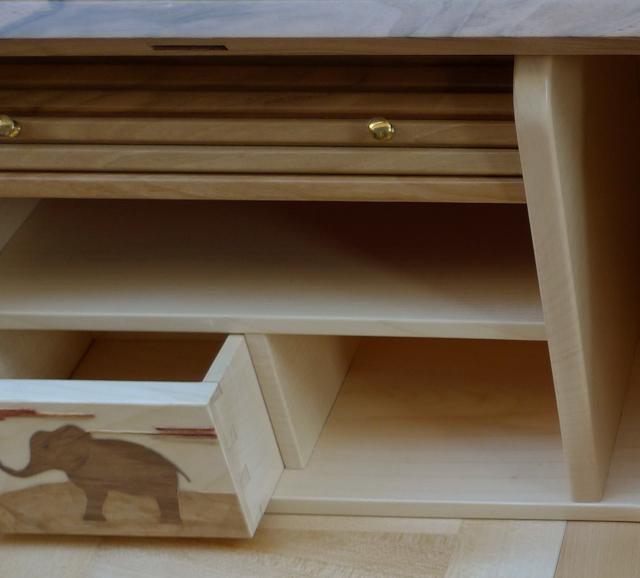 Détail du théatre - bureau dos d'âne, création