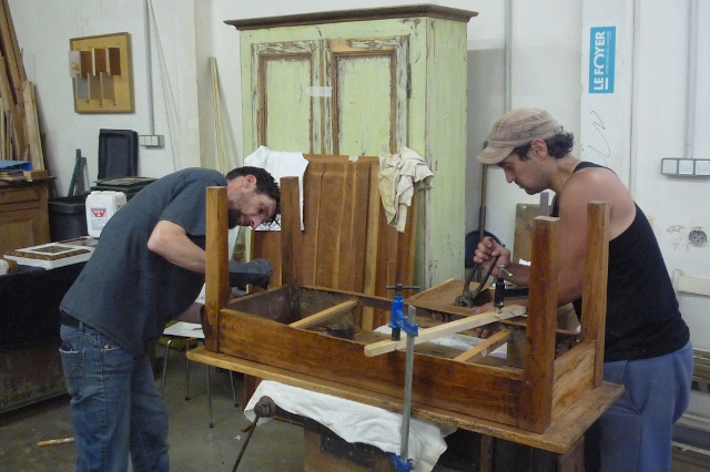 CQP Intervenant en revalorisation de mobilier, Foyer Notre-dame des Sans Abris, Lyon (69)