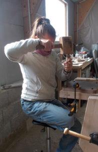 Atelier Magalie -Mortaises au ciseau à bois