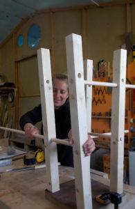 Atelier Magalie - montage à blanc