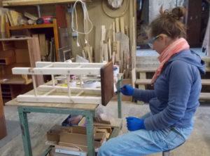Atelier Magalie - teinte du plateau