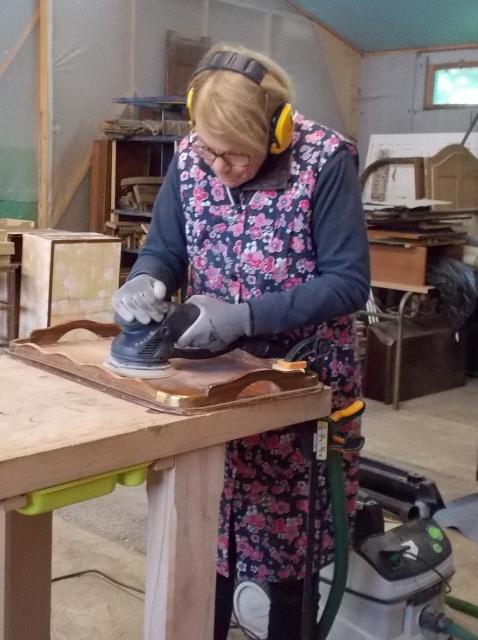 Atelier Marielle - poncage