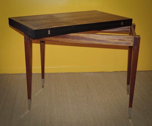 Table vintage ouverture